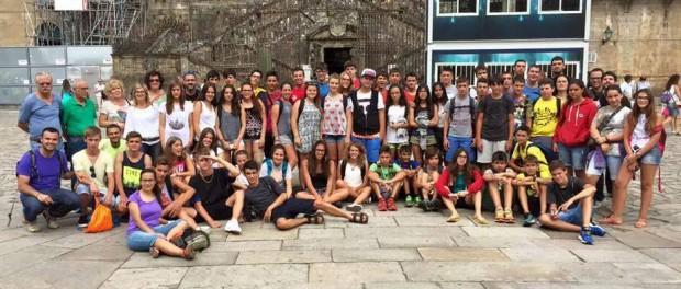 Una setantena de joves de l'arxidiòcesi han fet aquest estiu el Camí de Sant Jaume