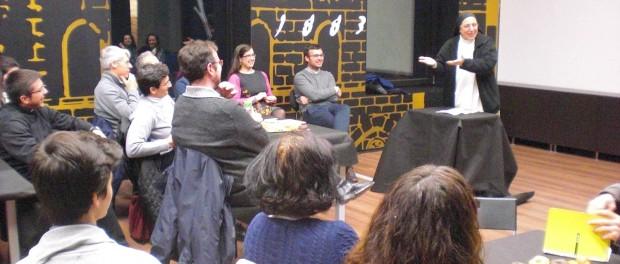 Gna. Lucía Caram: «Hem de ser inconformistes davant les situacions d'injustícia»