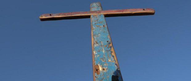 Acollida de la creu de Lampedusa