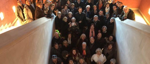 Un centenar de persones del Curs Alpha participen en la convivència de l'Esperit a Poblet
