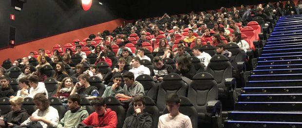 Més de 900 alumnes de secundària participen en una nova edició del cinema espiritual