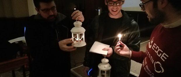 Acollida de la Llum de la Pau de Betlem