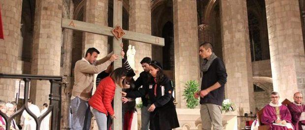 Acollida de la creu de Mossul