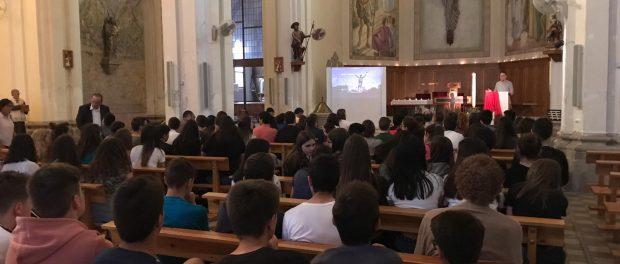 Vetlla de pregària de final de curs a Vinyols i els Arcs